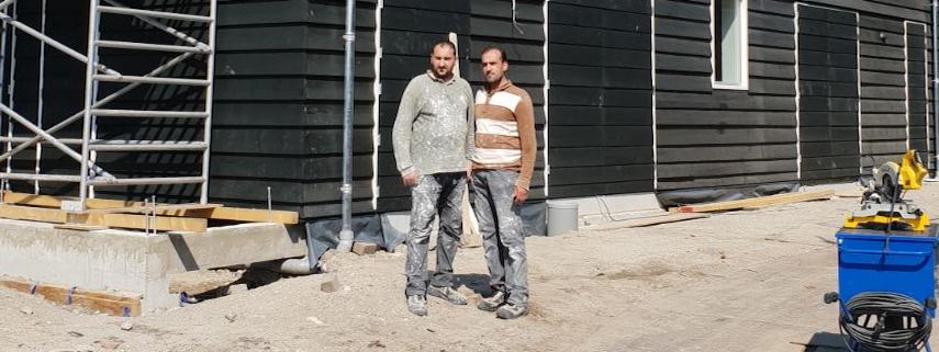 Mouymen Mohammed schuur 2 364-134 afbouw schilderen stucen stucken verven reparatie